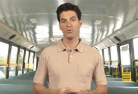 Checking for Sleeping Children, a School Bus Driver Training Course Demo